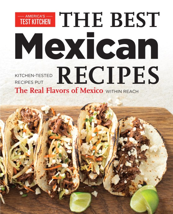 The Best Mexican Recipes (Front Cover)